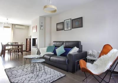 BH-Déco - Sylvie Samain - Home staging - Maison - Vendue - Coté salon, cheminée