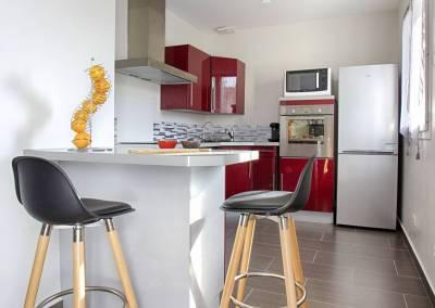 BH-Déco - Sylvie Samain - Home staging - Maison - Vendue - Coté cuisine