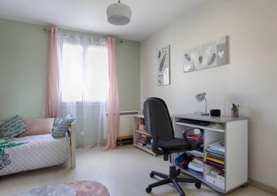 BH-Déco - Sylvie Samain - Home staging - Maison - Vendue - Chambre d'ado