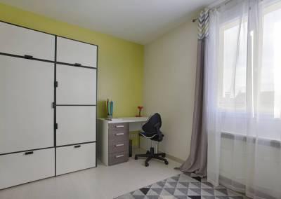 BH-Déco - Sylvie Samain - Home staging - Maison - Vendue - Chambre enfant vert anis