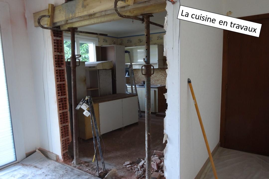2 - modification de l'ouverture de la cuisine - BH-Déco