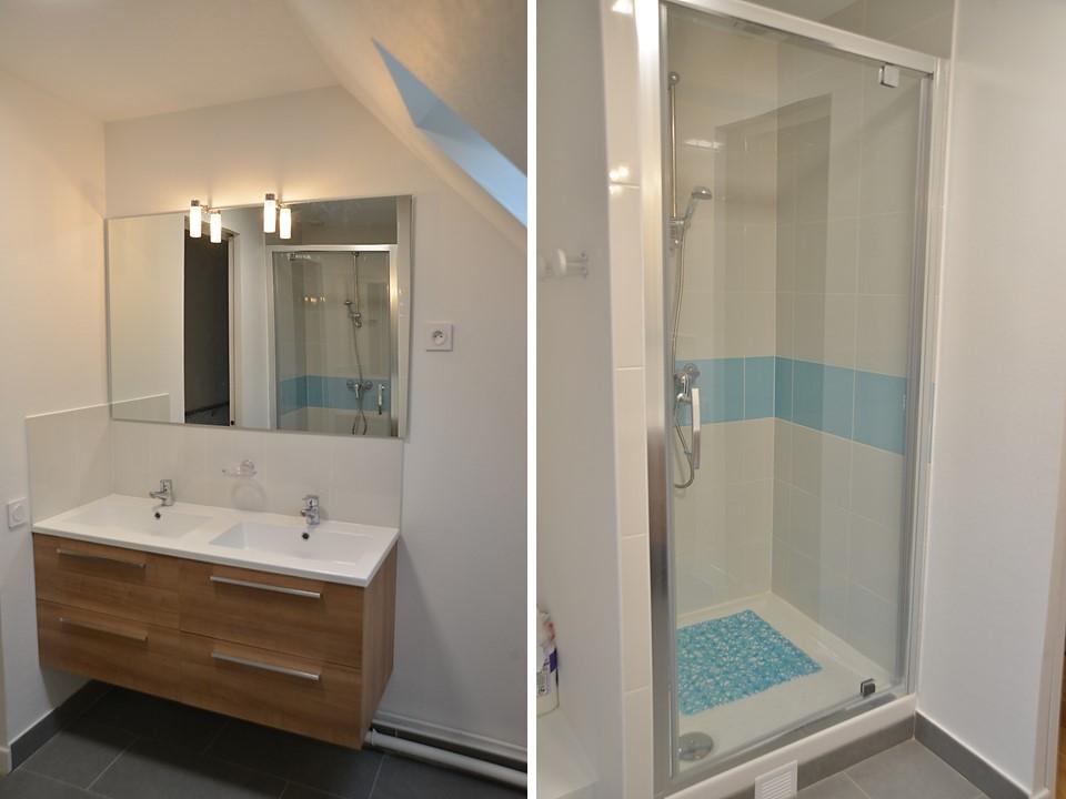 24 BH-Déco Salle de bain enfants bleu turquoise blanche douche