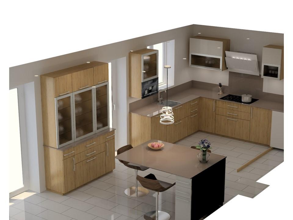 cuisine pierre et bois amazing dco salle de bain bois et. Black Bedroom Furniture Sets. Home Design Ideas