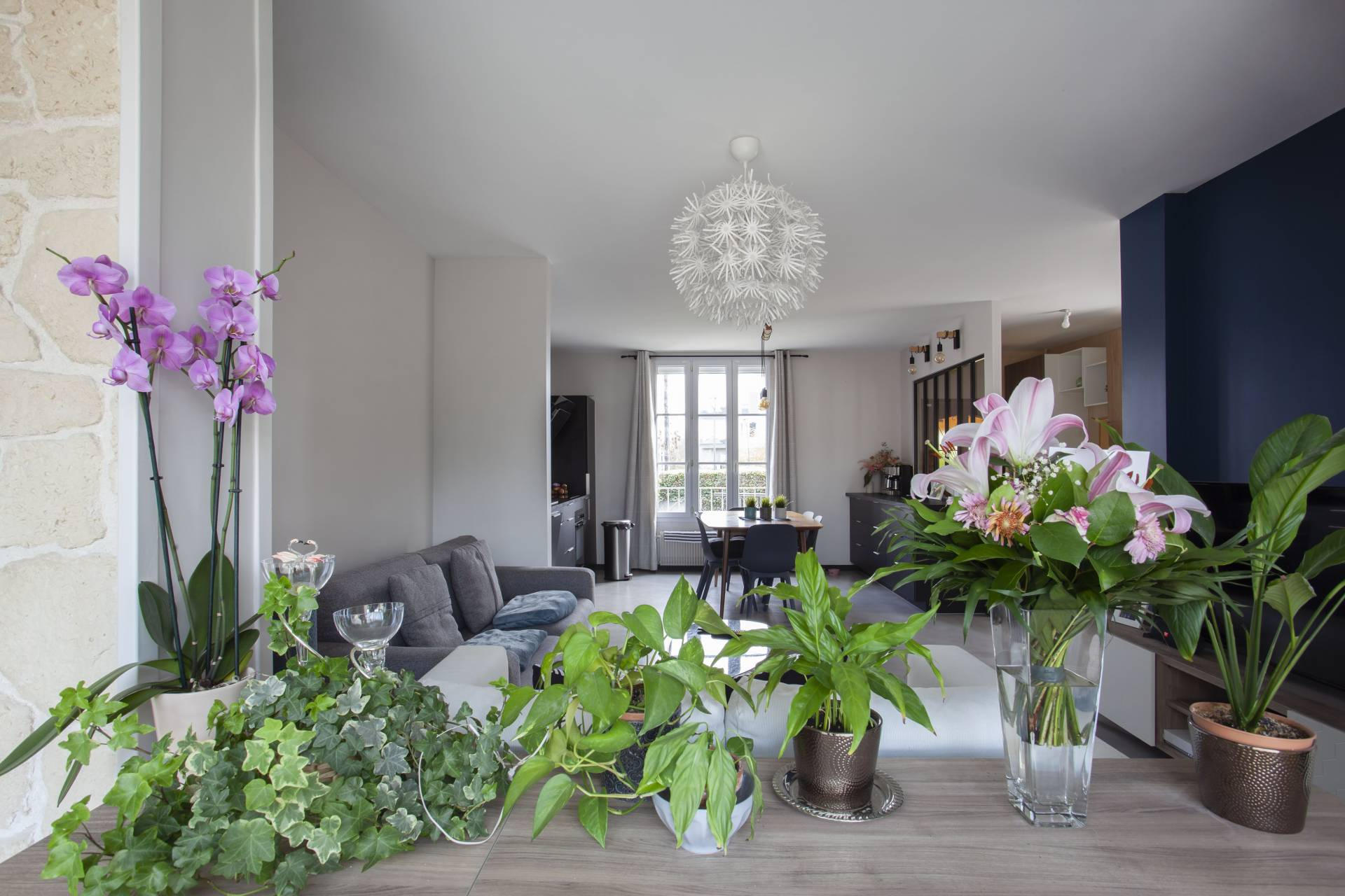 Rénovation complète d'une belle meulière à Epinay sur Orge – Essonne