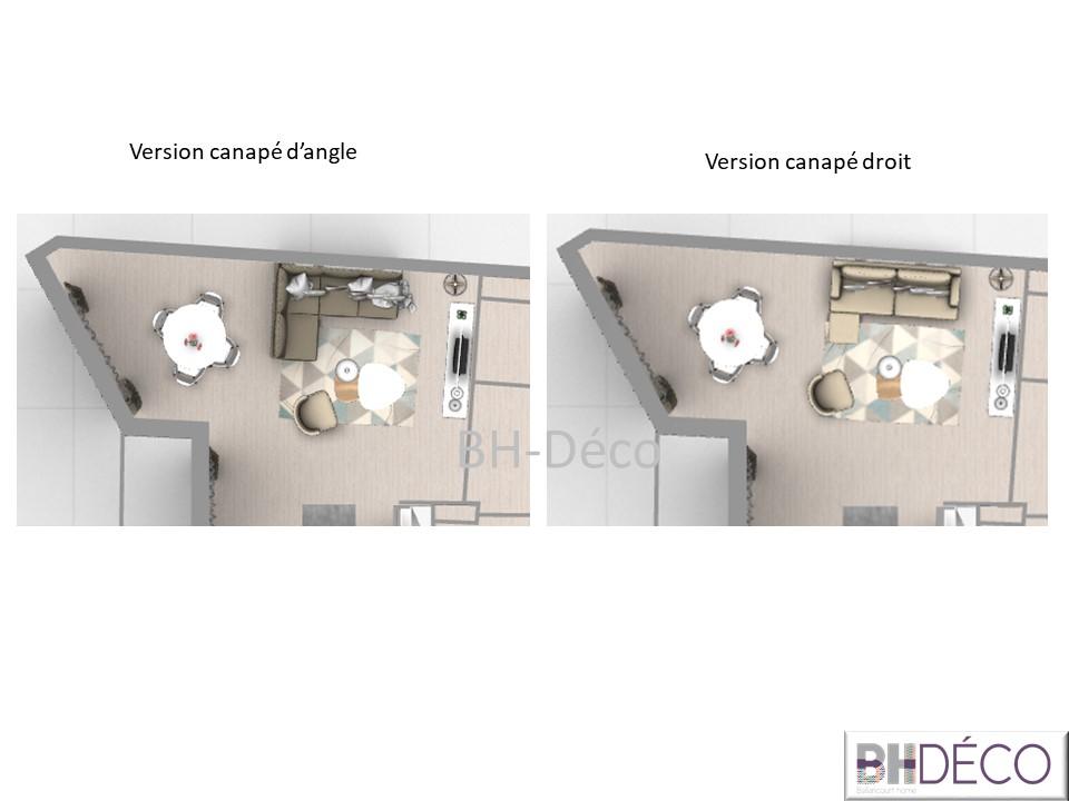 BH-Déco 3D vue dessus salon salle à manger