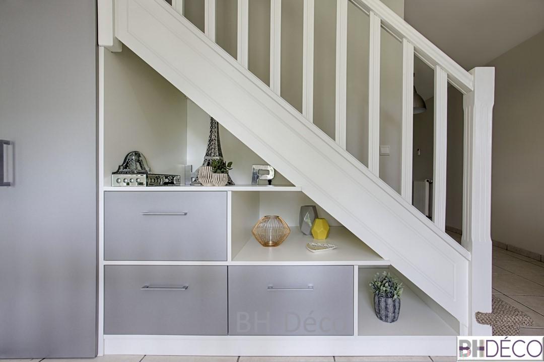 BH-Déco 9, decorationet , amenagement sous escalier