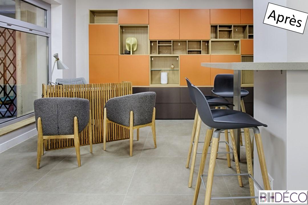 BH-Déco Agencement et décoration bureaux professionnel agence immobilière 15