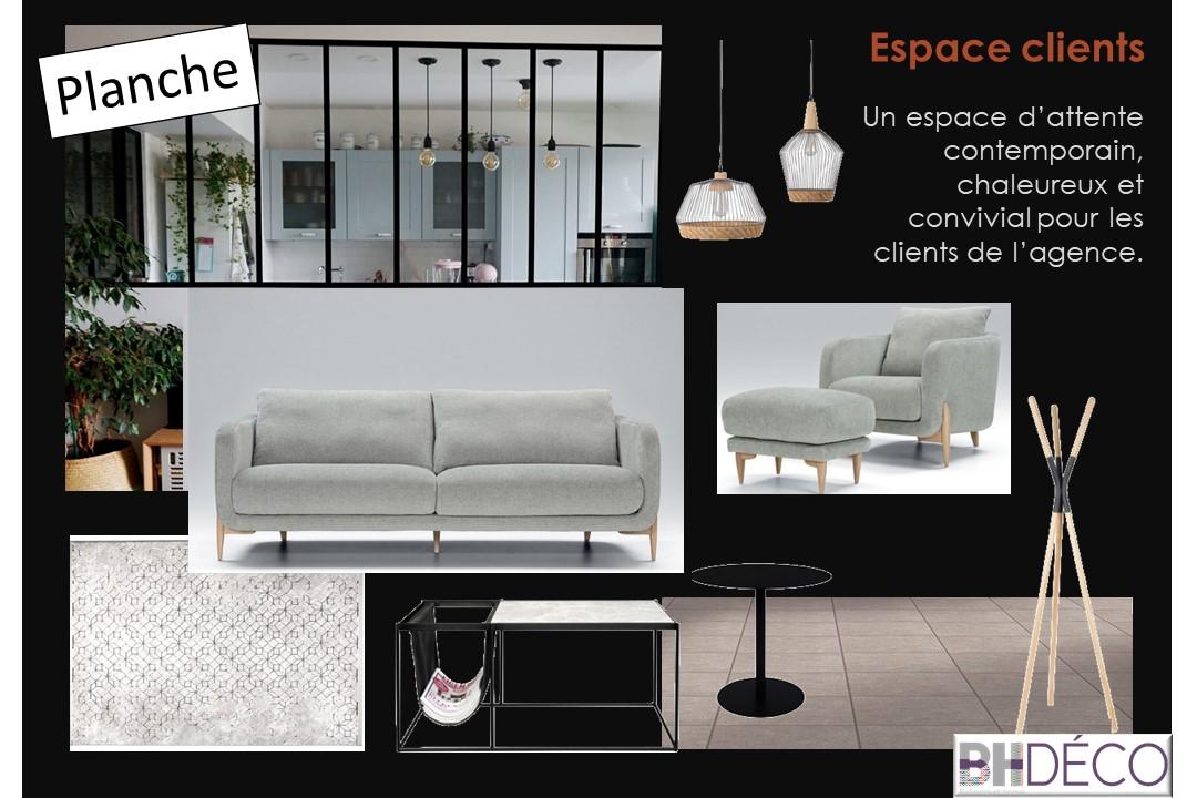 BH-Déco Agencement et décoration bureaux professionnel agence immobilière 4