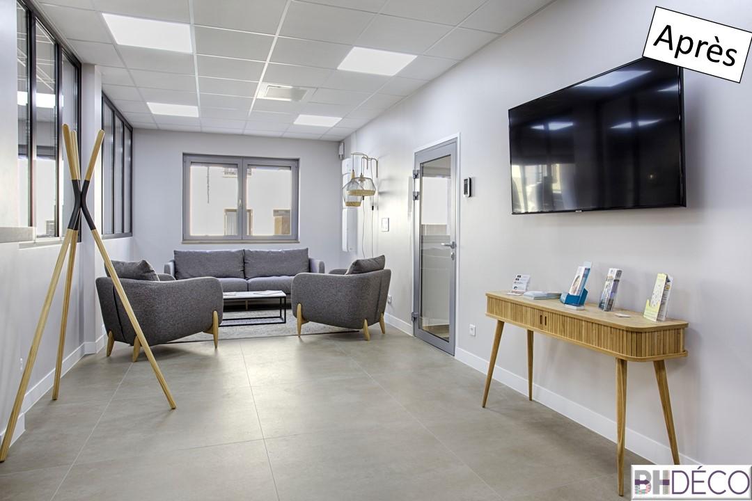 BH-Déco Agencement et décoration bureaux professionnel agence immobilière 6