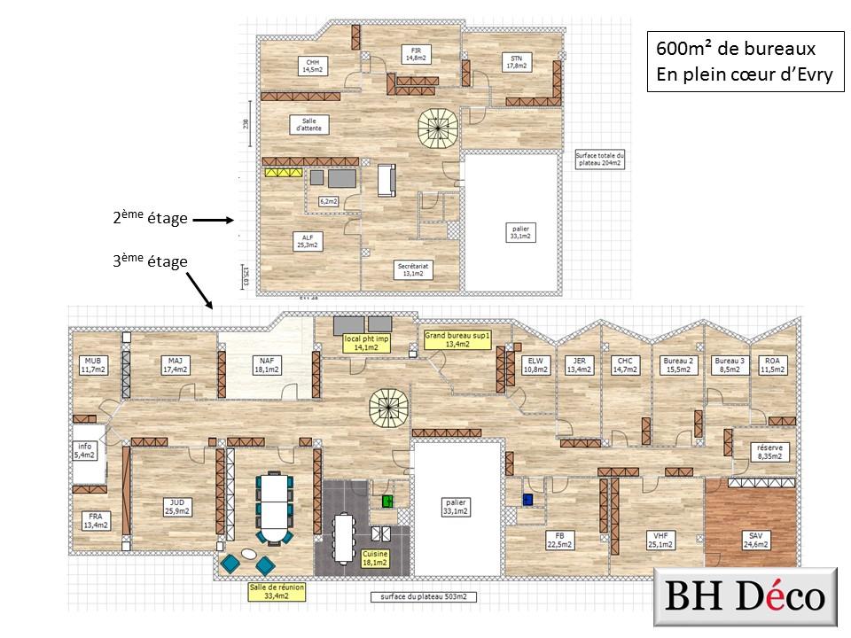 BH-Déco Rénovation décoration bureaux essonne 2