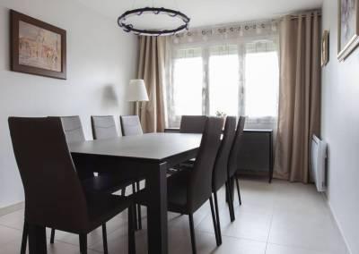 BH-Déco - Sylvie Bernard Samain rénovation complete du RdC d'une maison Levit à Mennecy SAM meubles céramique