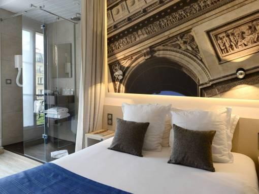 Projet, rénovation de 8 chambres d'hôtel à Paris