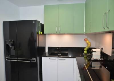 BH-Déco - Sylvie Samain - Rénovation maison accessibilité PMR cuisine plan de travail