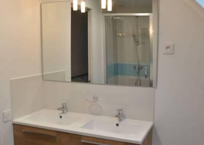 BH-Déco - Sylvie Samain - Rénovation maison accessibilité PMR salle de bain des enfants