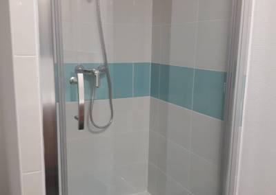 BH-Déco - Sylvie Samain - Rénovation maison accessibilité PMR salle de bain douche des enfants