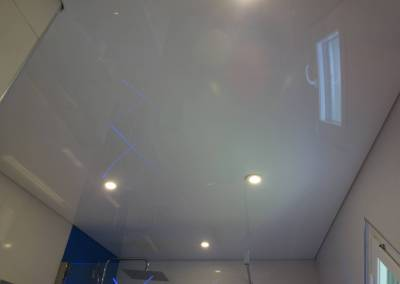 BH-Déco - Sylvie Samain - faux plafond salle de bain