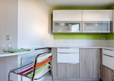 BH-Déco - Sylvie Samain - rénovation complète RdC cuisine
