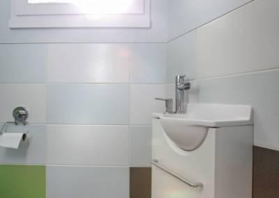 BH-Déco - Sylvie Samain - rénovation complète RdC sanitaires