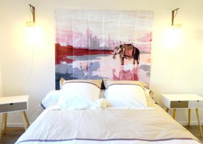BH-Déco - Sylvie Samain - rénovation complète appartement chambre lumineuse