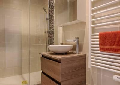 BH-Déco - Sylvie Samain - rénovation complète appartement salle de bain