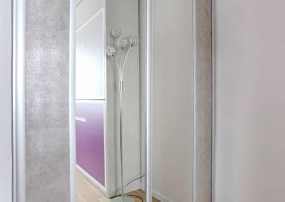 BH-Déco - Sylvie Samain, rénovation totale d'un appartement chambre bureau placard