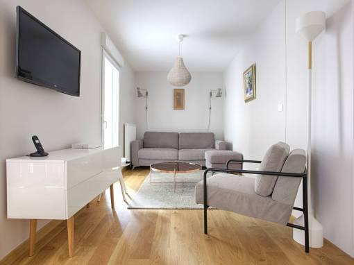 Décoration d'un nouvel appartement à Arpajon