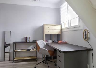 BH-Déco - Sylvie Samain, rénovation d'une chambre d'adolescent