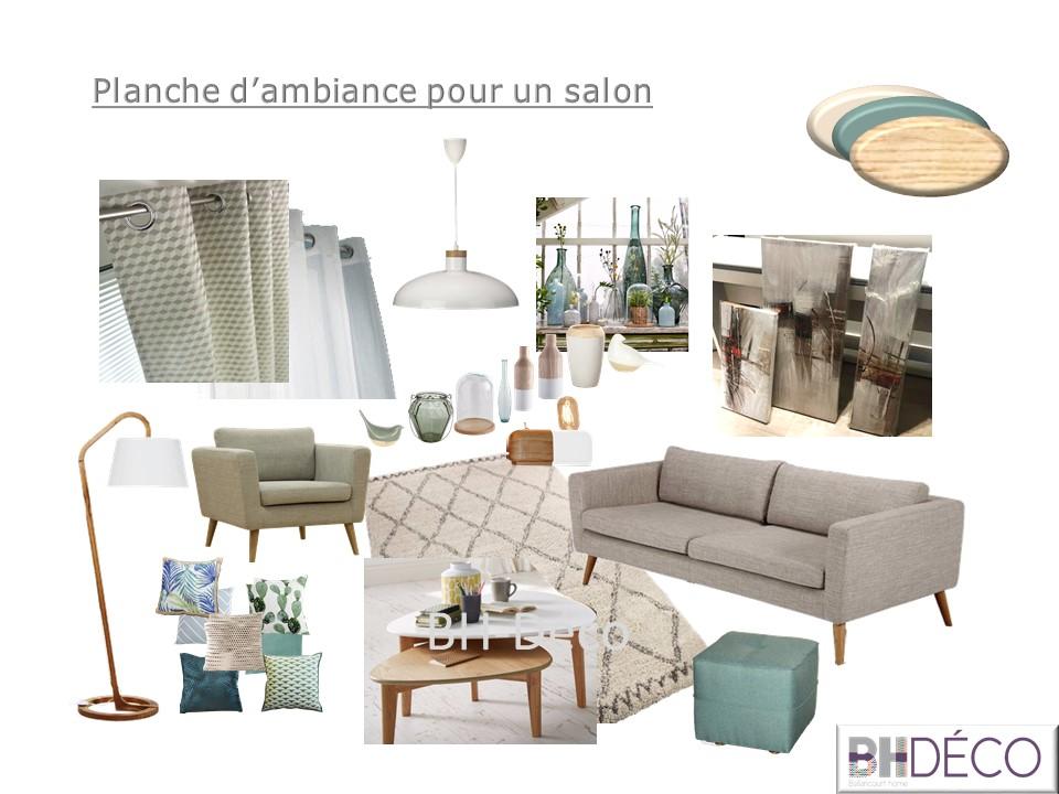 BH-Déco planche salon clair lumineux couleurs grises naturelles
