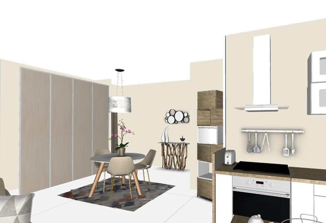 BH-Déco planches 3D séjour cuisine 3