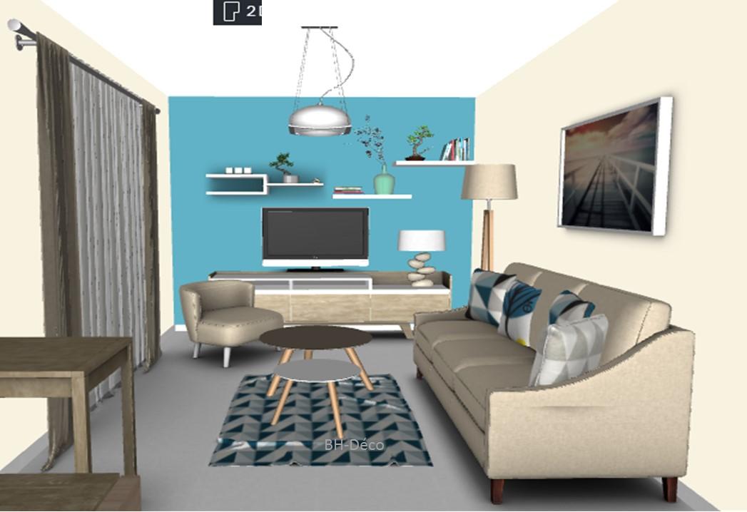 BH-Déco planches 3D séjour cuisine 9