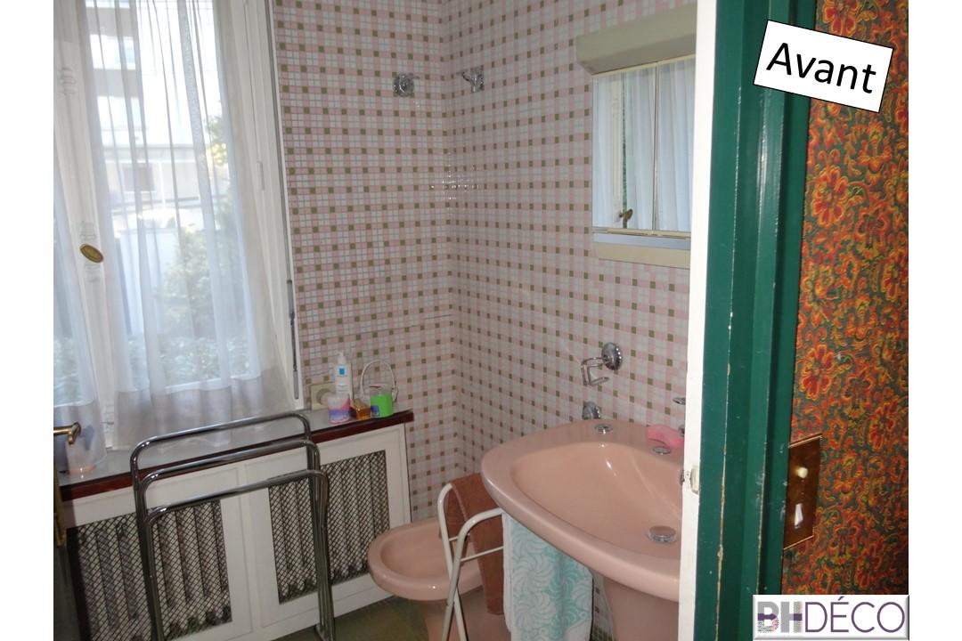 BH-Déco rénovation salle de bain carrelage marbre douche italienne 1