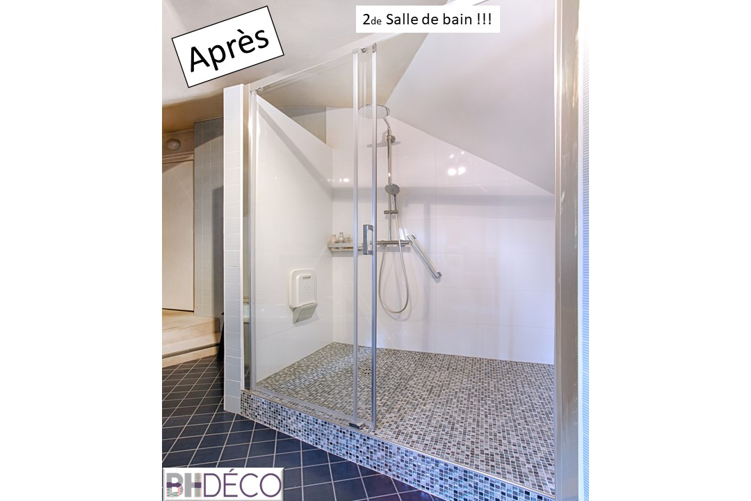 BH-Déco rénovation salle de bain carrelage marbre douche italienne 7