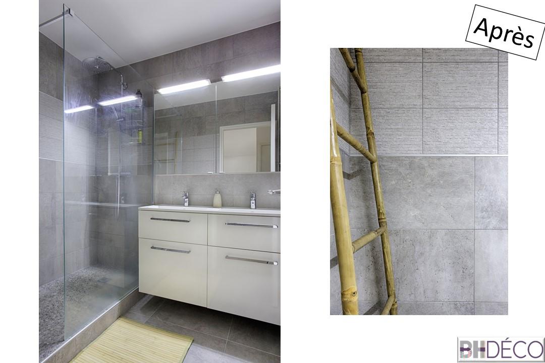 BH-déco rénovation séjour cuisine ouverture cloison cuisine sol pvc clipsable bois 12