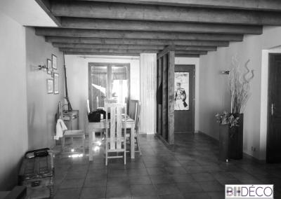 BH-Déco - Sylvie Samain - Rénovation maison Corbeil Essonne - Avant