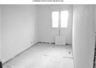 BH-Déco - Sylvie Samain - Appartement à Avon - Avant